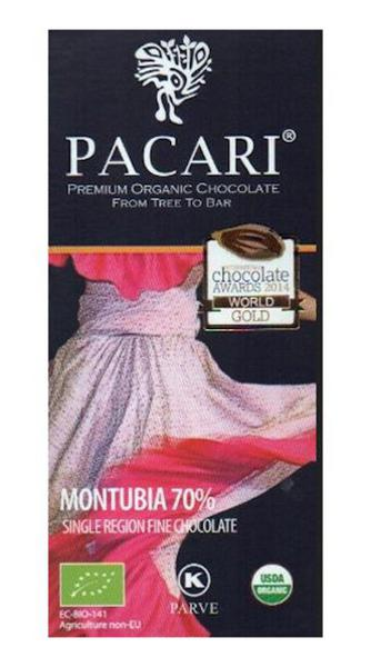 Montubia 70% Dark Chocolate ORGANIC