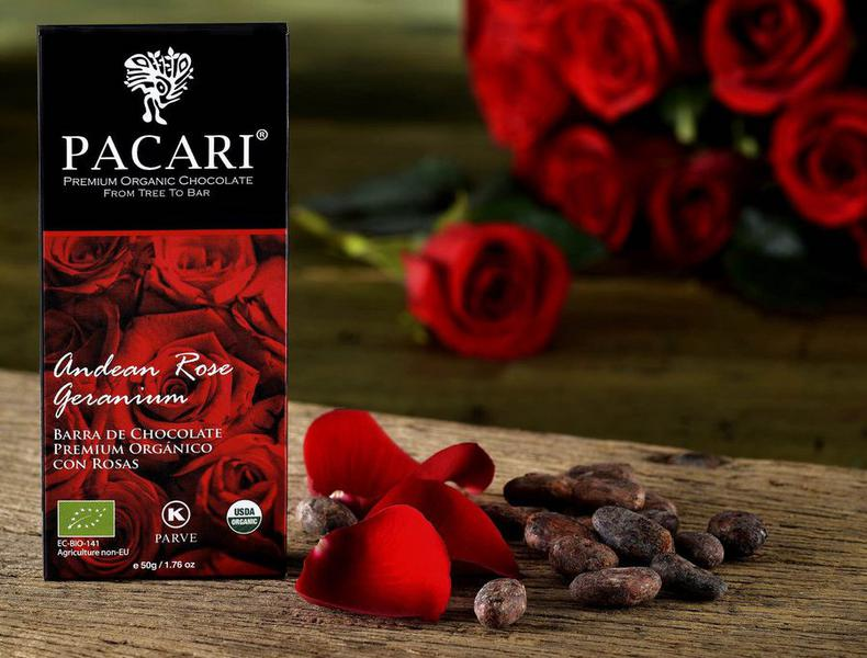 Andean Rose Dark Chocolate ORGANIC