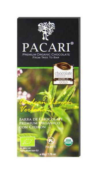 Andean Lemon Verbena Dark Chocolate ORGANIC