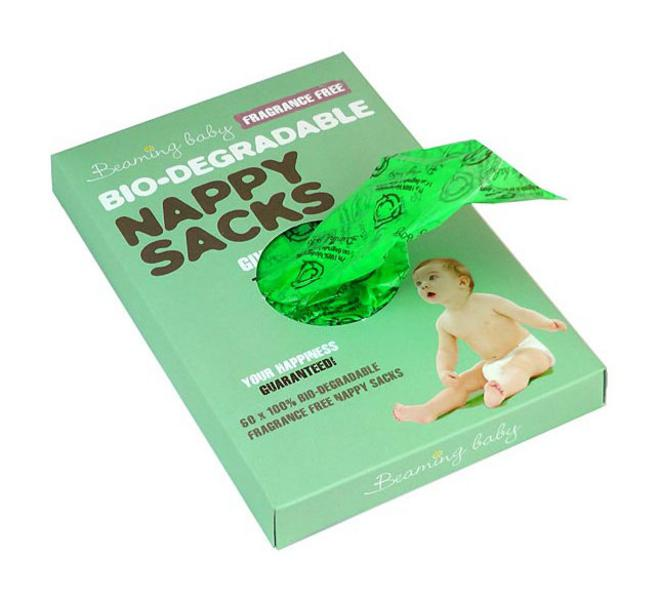 Unfragranced Biodegradable Nappy Sacks