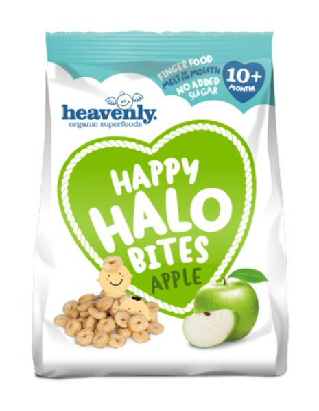 Apple Baby Food Happy Halo Bites ORGANIC