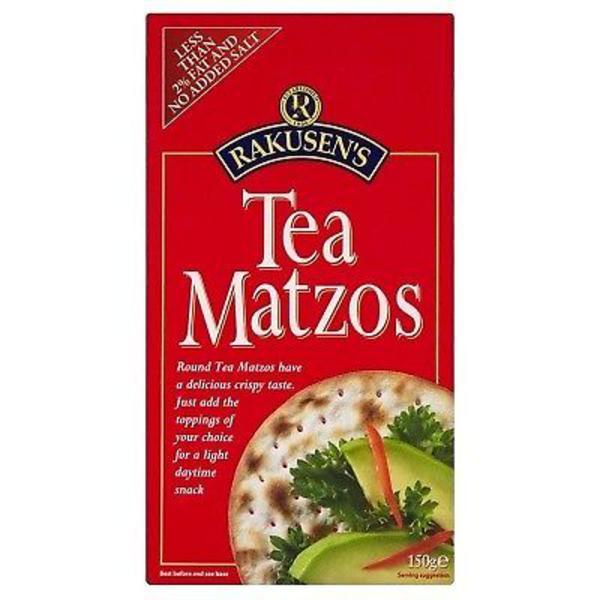 Tea Matzos