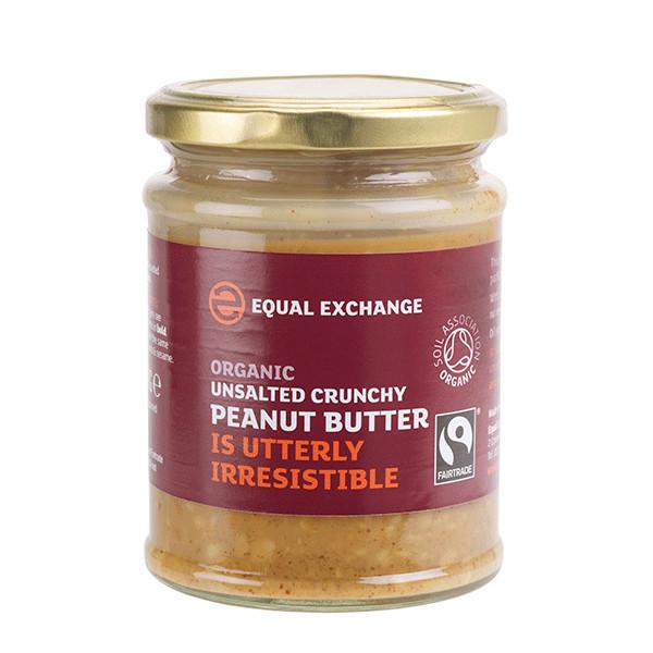 Crunchy Peanut Butter With Salt FairTrade, ORGANIC