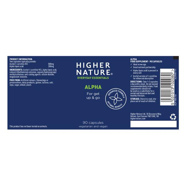 Alpha Supplement Vegan image 2