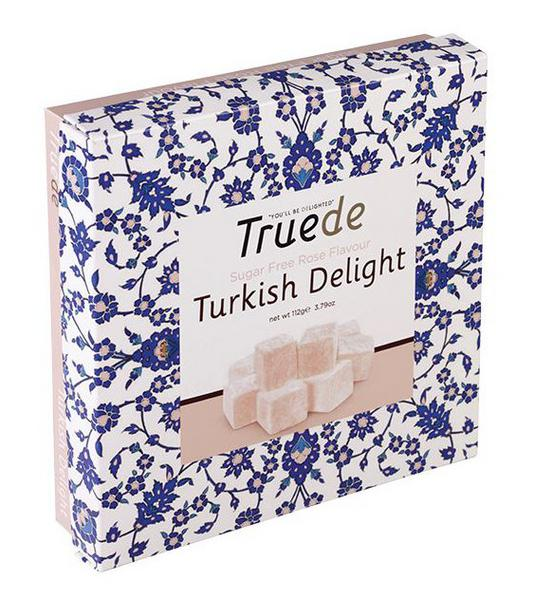 Rose Turkish Delight sugar free