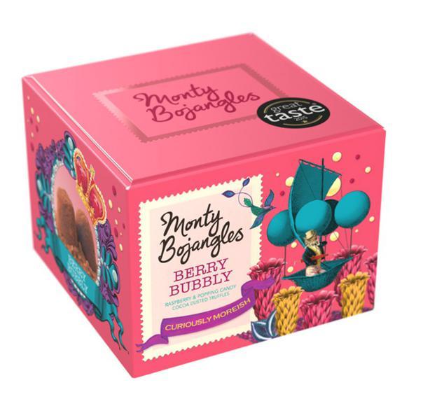 Berry Bubbly Chocolate Truffles
