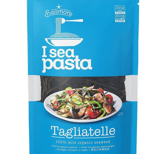I sea Wild Seaweed Tagliatelle Pasta Gluten Free, Vegan, ORGANIC
