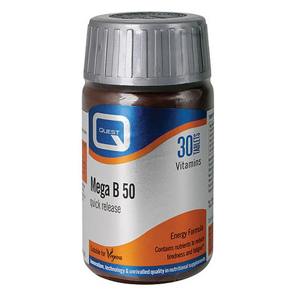 Mega B 50mg Vitamin B