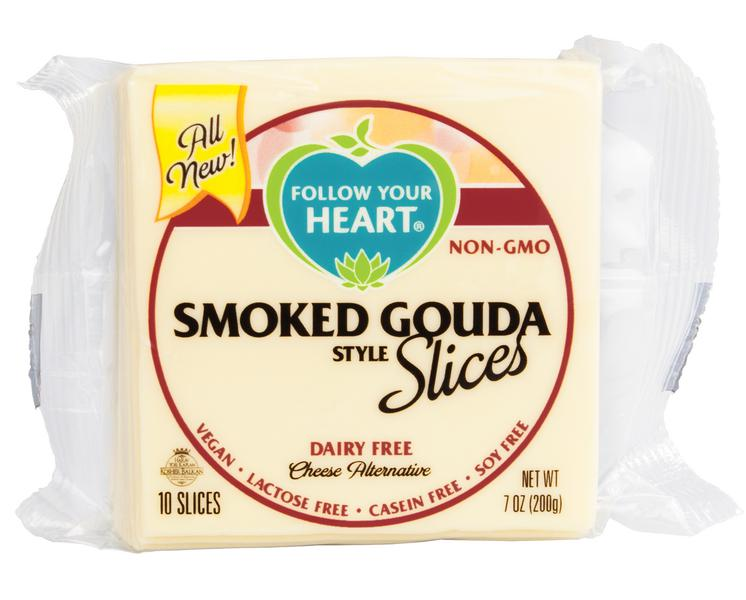 Smoked Gouda Style Dairy Free Cheese Gluten Free, Vegan