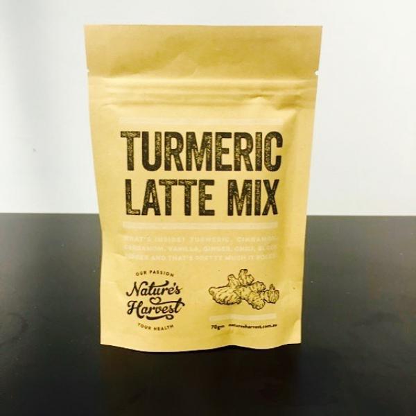 Turmeric Latte Mix Nature S Harvest