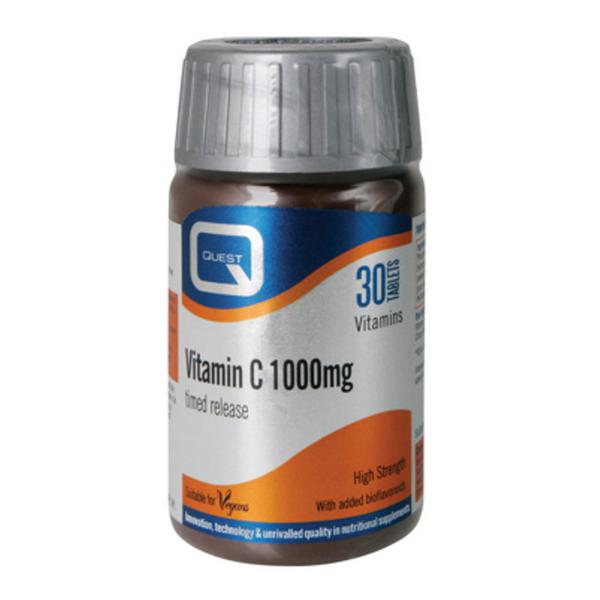 Vitamin C 1000mg Timed Release Gluten Free