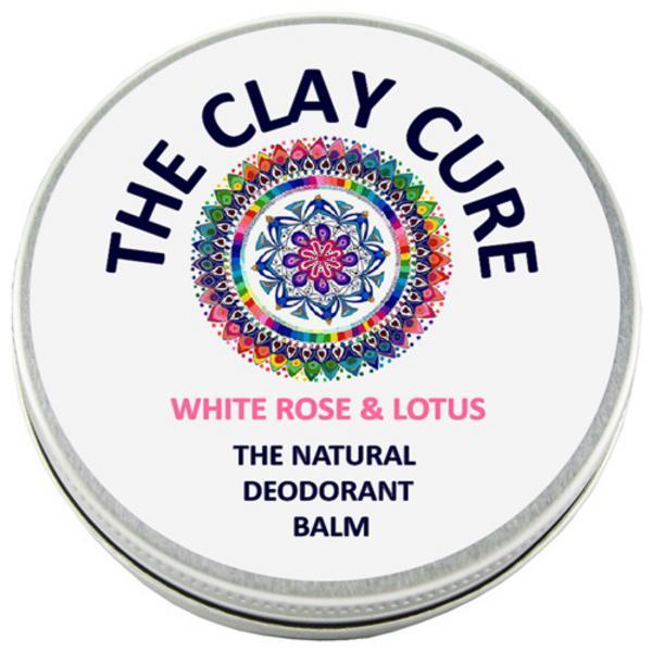 White Rose & Lotus Deodorant Balm Vegan