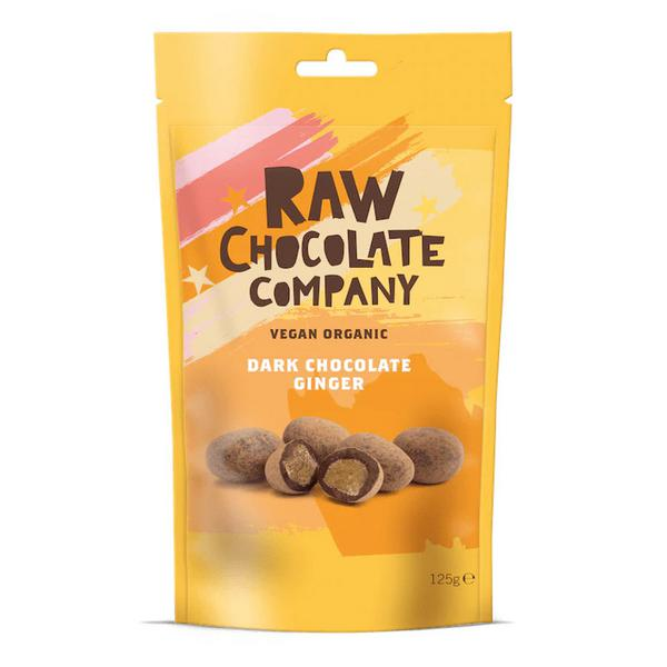 Raw Chocolate Coated Stem Ginger Vegan, ORGANIC