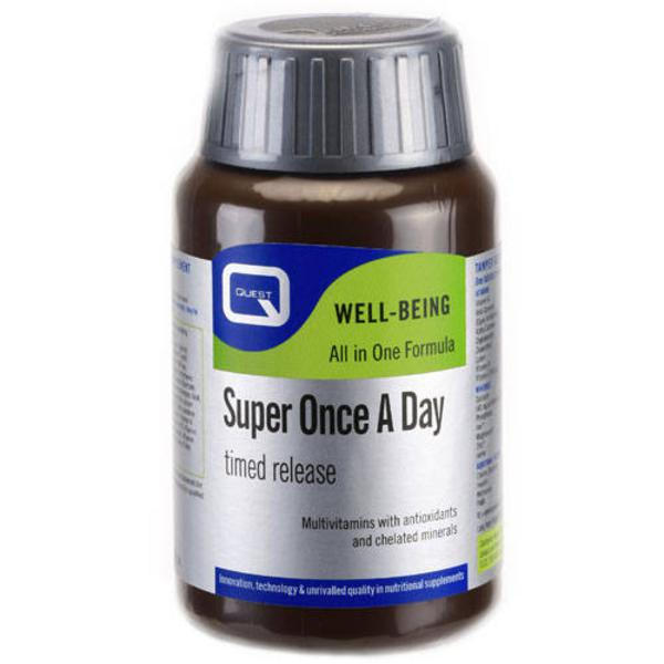 Super Multi Vitamins One-a-Day Timed Release