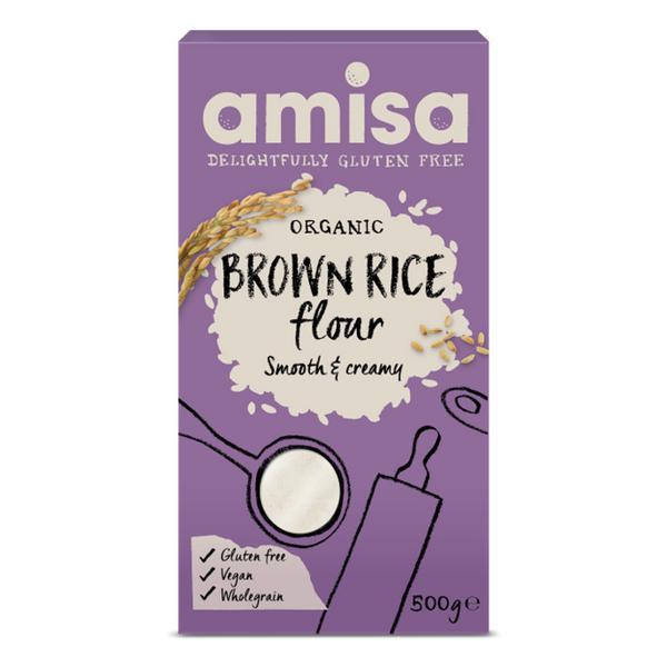 Brown Rice Flour Gluten Free, ORGANIC