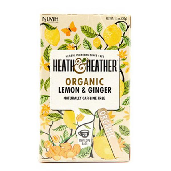 Lemon & Ginger Tea ORGANIC