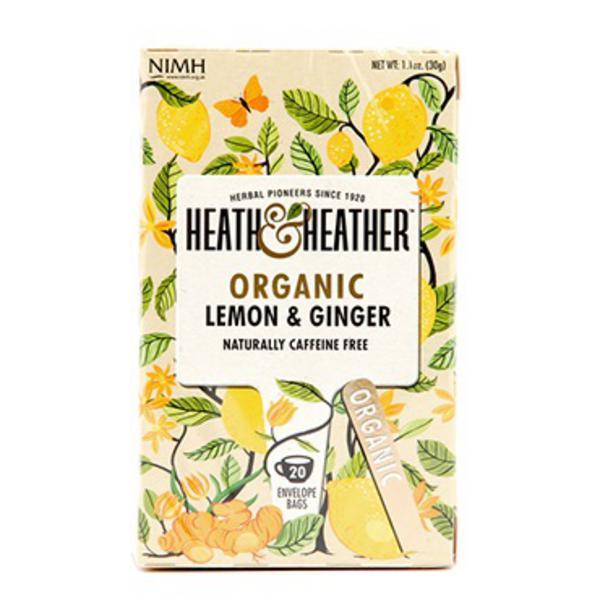 Lemon & Ginger Tea ORGANIC