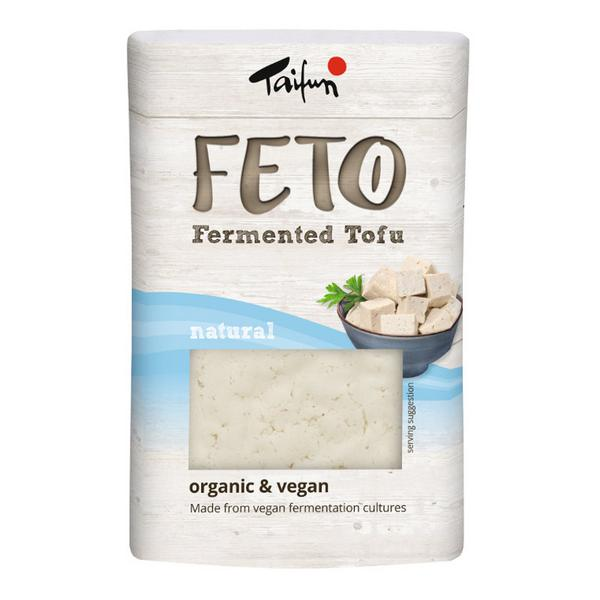 Natural Fermented Tofu FETO Vegan, ORGANIC