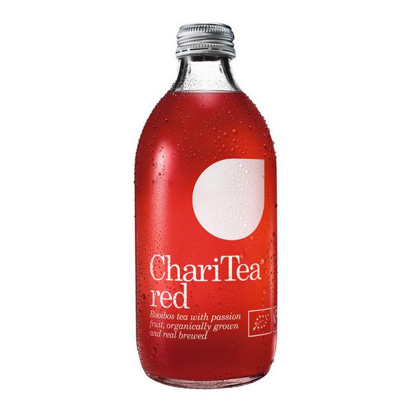 Red Iced Tea Rooibos with Passion Fruit FairTrade