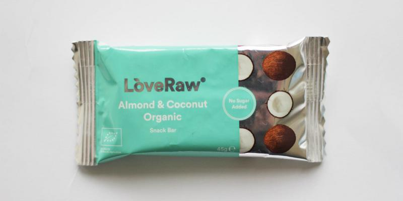 Almond & Coconut Raw Snackbar ORGANIC