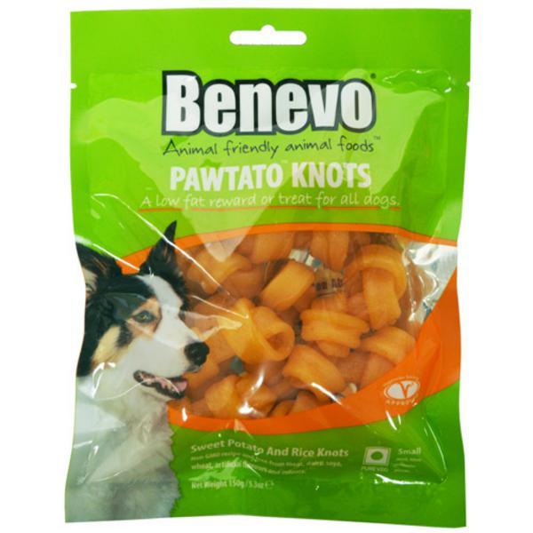 Pawtato Knots Dog Food Chews Vegan