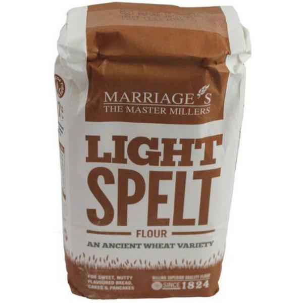 Light Spelt Flour