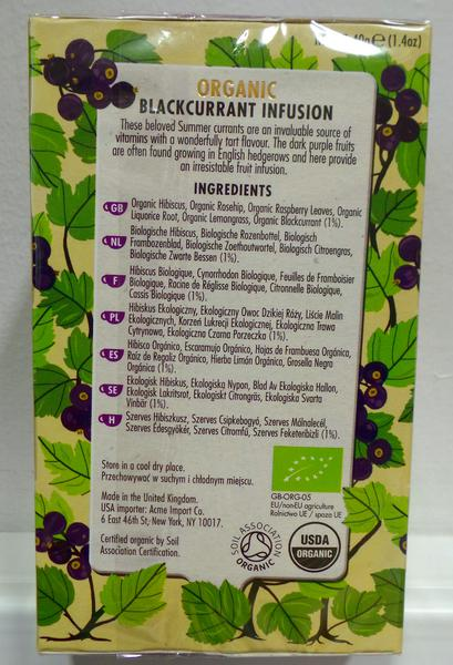 Blackcurrant Tea ORGANIC image 2