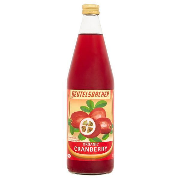Cranberry Juice Demeter no sugar added, ORGANIC