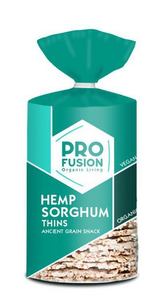 Hemp Sorghum Thins Gluten Free, Vegan, ORGANIC