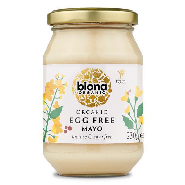 Egg & Soya Free Mayonnaise dairy free, Vegan, ORGANIC