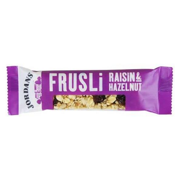Frusli Raisin & Hazelnut Snackbar