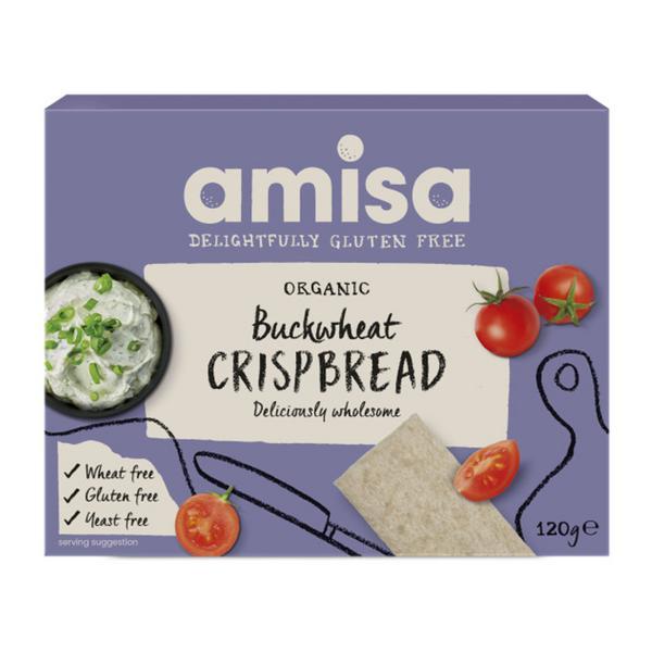 Wholegrain Buckwheat Crispbreads Gluten Free, ORGANIC