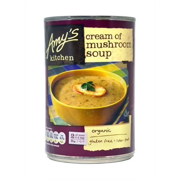 Cream of Mushroom Soup Gluten Free, ORGANIC