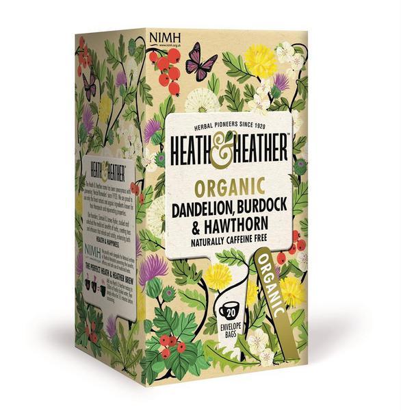 Dandelion,Burdock & Hawthorn Tea ORGANIC