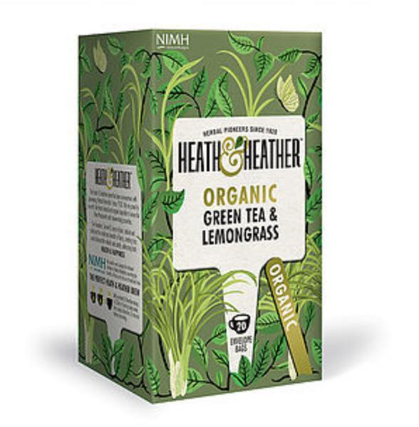 Green Tea & Lemongrass Tea ORGANIC
