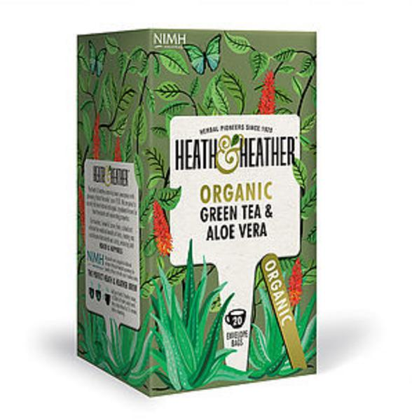 Green Tea & Aloe Vera Tea ORGANIC