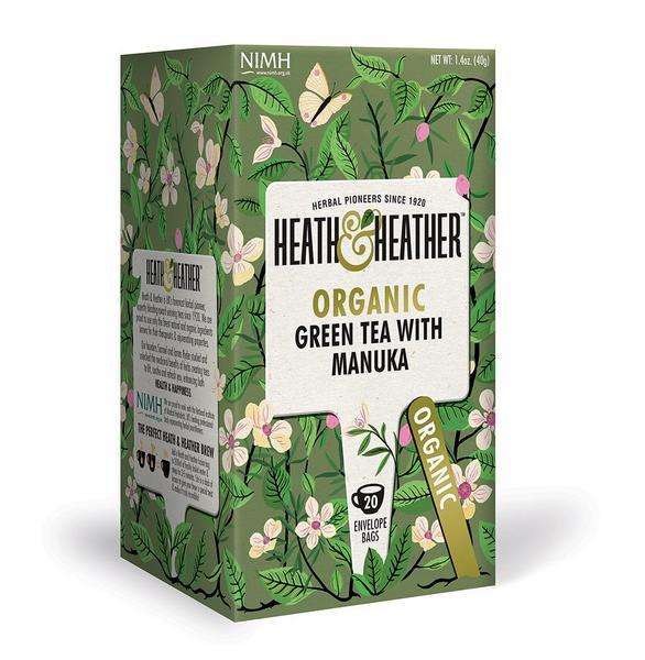 Green Tea With Manuka Honey ORGANIC
