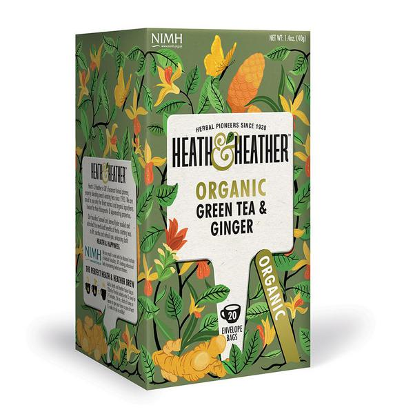 Green & Ginger Tea ORGANIC