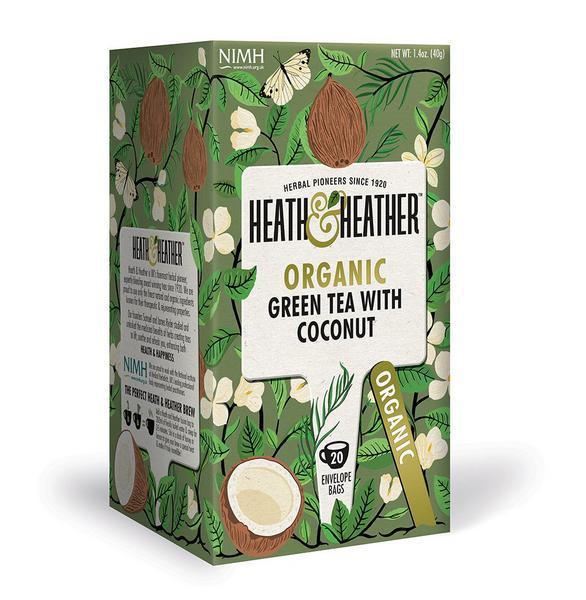 Green Tea With Coconut ORGANIC