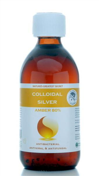 Amber Enhanced Colloidal Silver