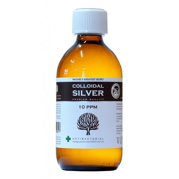 Enhanced Colloidal Silver 10ppm