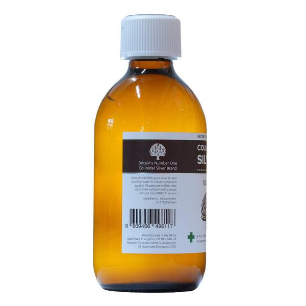 Enhanced Colloidal Silver 10ppm  image 2