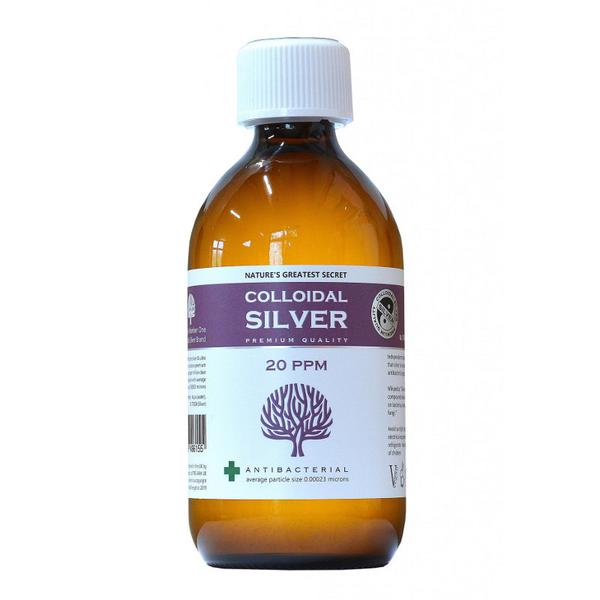 Enhanced Colloidal Silver 20ppm In 300ml Bottle From