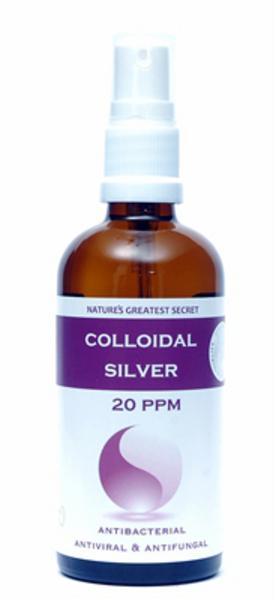 Enhanced Colloidal Silver 20ppm Spray