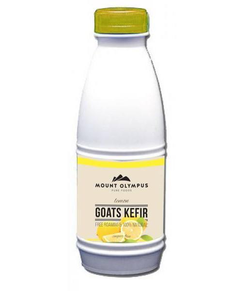 Lemon Kefir Goat Milk