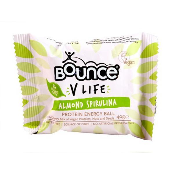 Almond & Spirulina Protein Balls Gluten Free
