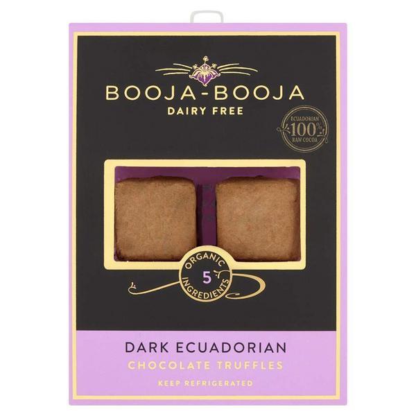Ecuadorian Dark Chocolate Truffles dairy free, Vegan, ORGANIC