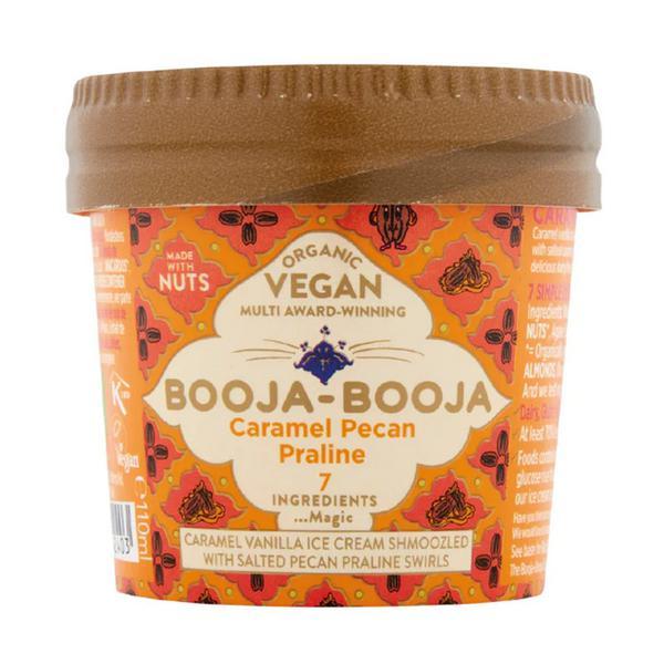 Caramel,Pecan & Praline Dairy Free Ice Cream Vegan, ORGANIC