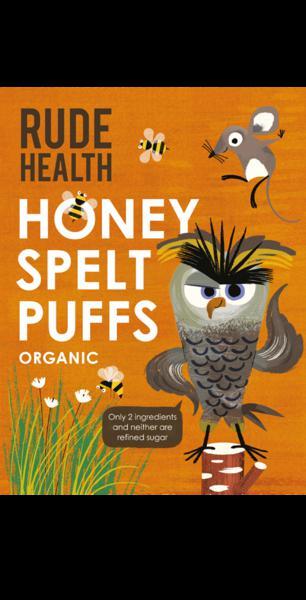 Spelt Puffed Honey ORGANIC
