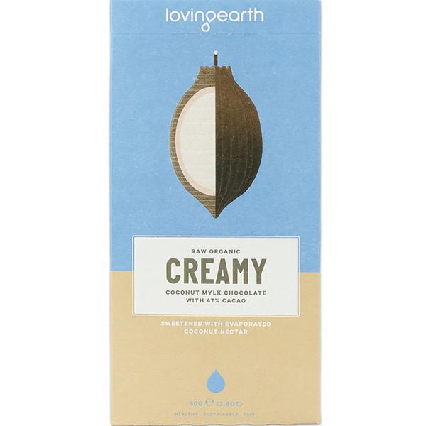 Creamy Coconut Mylk Raw Chocolate ORGANIC